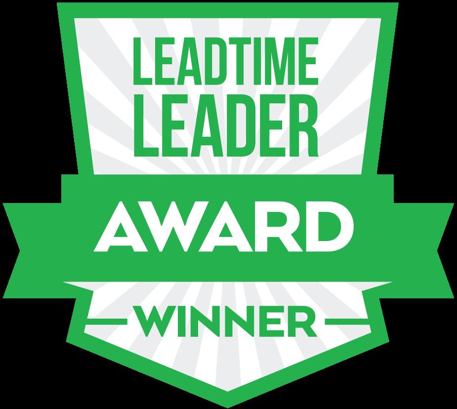 Leadtime Leader Award Winner